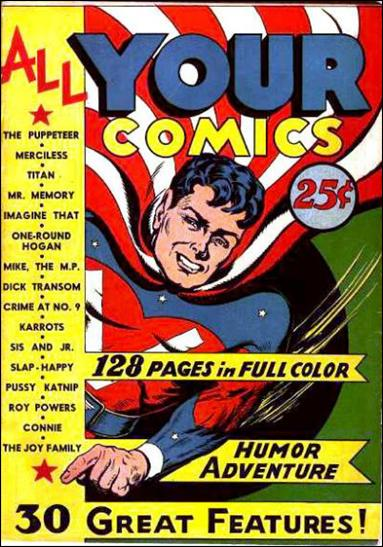 All Your Comics (1944) 1-A by R. W. Voight