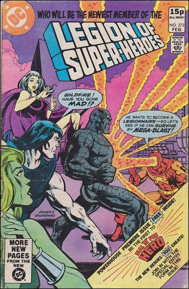 Legion of Super-Heroes (1980) 272-B by DC