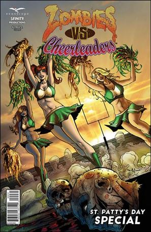 Zombies vs Cheerleaders: St. Patty's Day Special 1-C