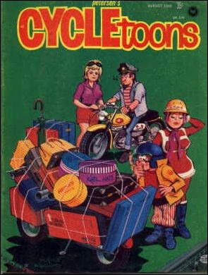 Cycletoons 4-A by Peterson