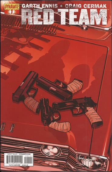 Red Team 1-A by Dynamite Entertainment