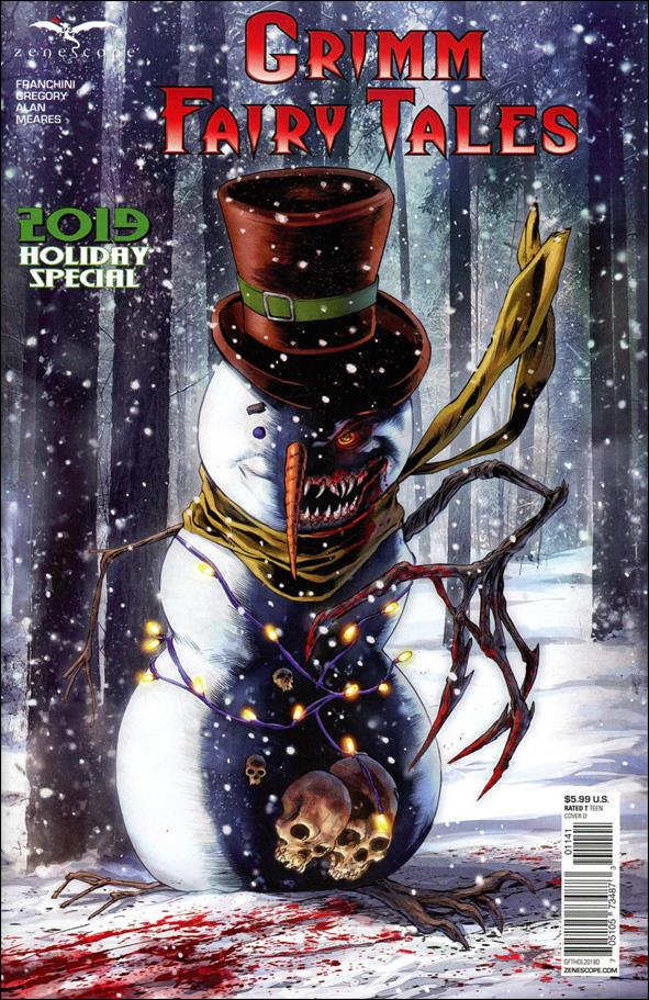 Grimm Fairy Tales Holiday Special 2019-D by Zenescope Entertainment