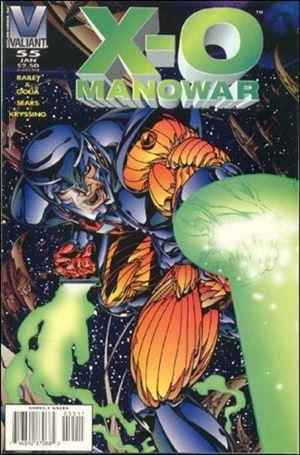 X-O Manowar (1992) 55-A