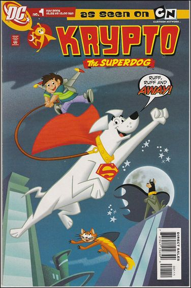 Krypto The Super Dog 1-A by DC