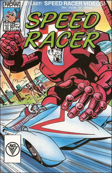 Speed Racer (1987) 25-A by Now Comics