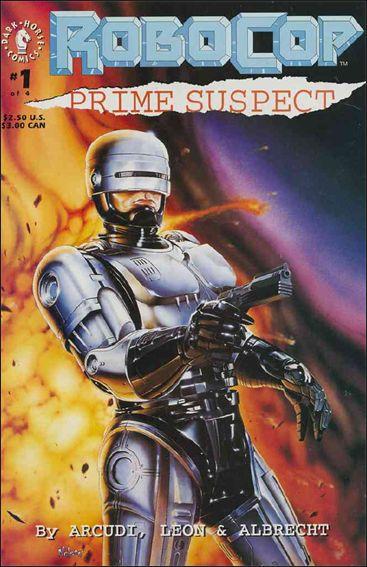 RoboCop: Prime Suspect 1-A by Dark Horse