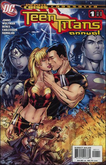 Teen Titans Annual (1997) '1'-A by DC
