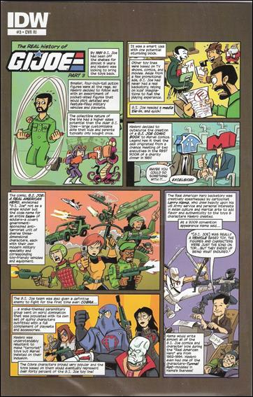 G.I. Joe (2013) 3-C by IDW
