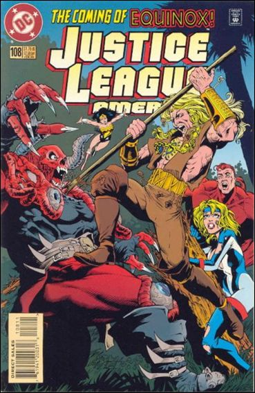 Justice League America 108-A by DC