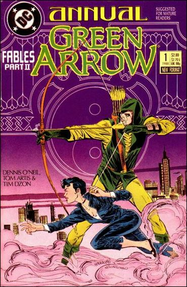 Green Arrow Annual (1988) 1-A by DC