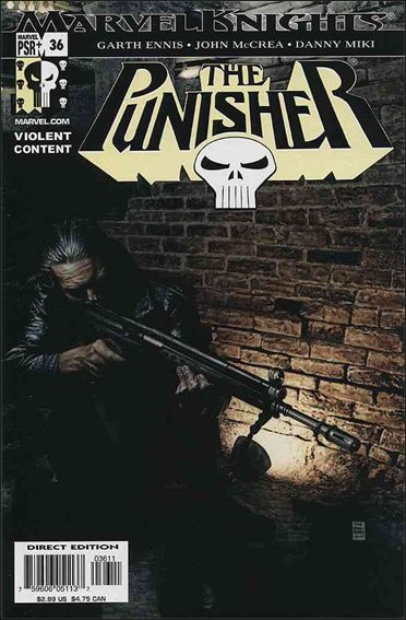 Punisher (2001) 36-A by Marvel