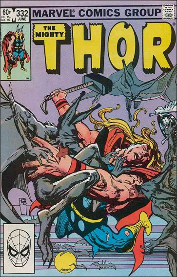 Thor (1966) 332-A by Marvel