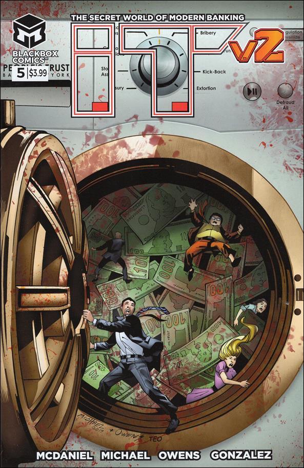 I.T. - The Secret World of Modern Banking (2017/09) 5-A by Blackbox Comics