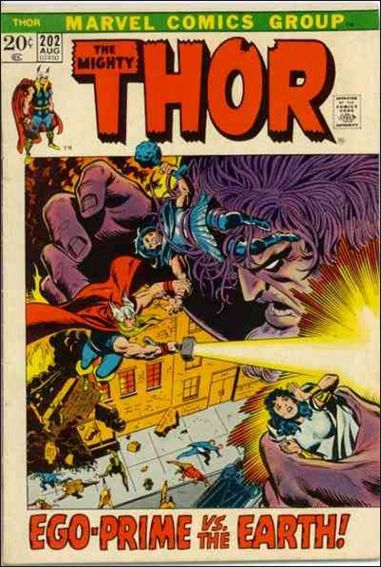 Thor (1966) 202-A by Marvel