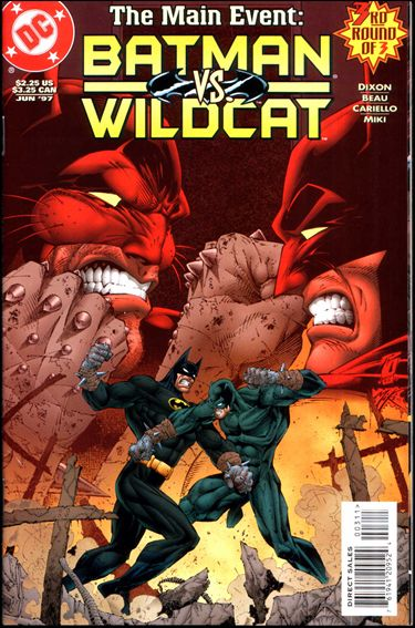 Batman/Wildcat 3-A by DC