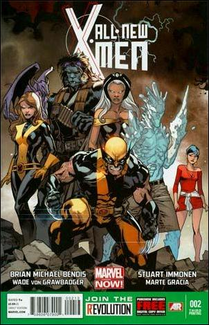 All-New X-Men 2-D by Marvel