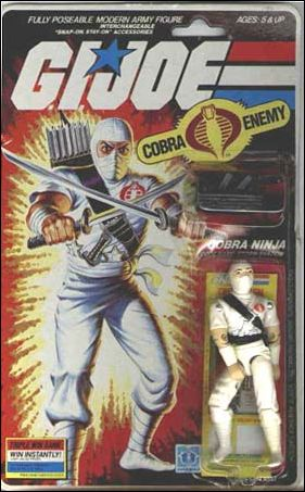 "G.I. Joe: A Real American Hero 3 3/4"" Basic Action Figures Storm Shadow (Cobra Ninja)  by Hasbro"