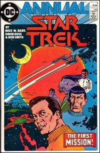 Star Trek Annual 1-A by DC