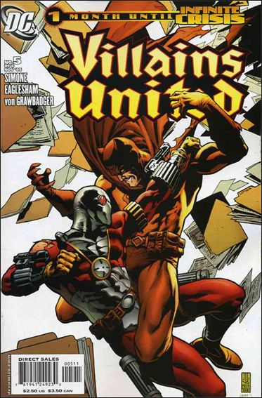 Villains United 5-A by DC