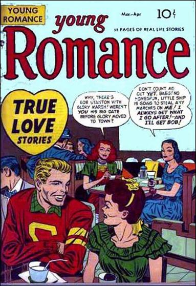 Young Romance (1947) 4-A by Prize