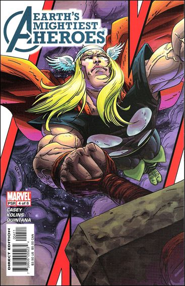 Avengers: Earth's Mightiest Heroes (2005) 4-A by Marvel