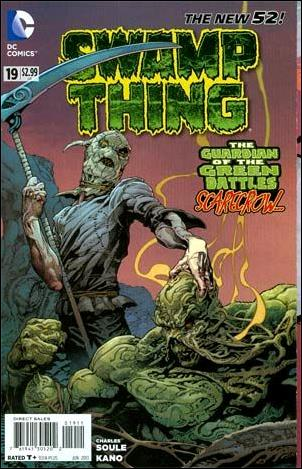Swamp Thing (2011) 19-A by DC