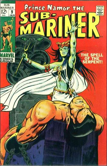 Sub-Mariner (1968) 9-A by Marvel