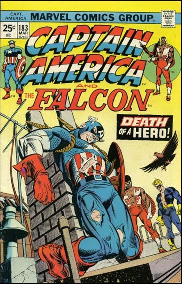 Captain America (1968) 183-A by Marvel