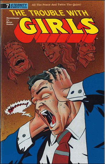 Trouble With Girls (1989) 7-A by Comico