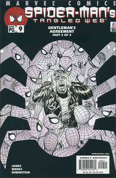 Spider-Man's Tangled Web 9-A by Marvel