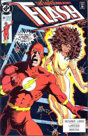 Flash (1987) 39-A by DC