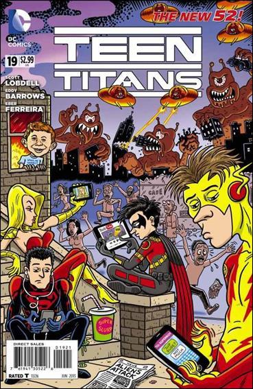 Teen Titans (2011) 19-B by DC