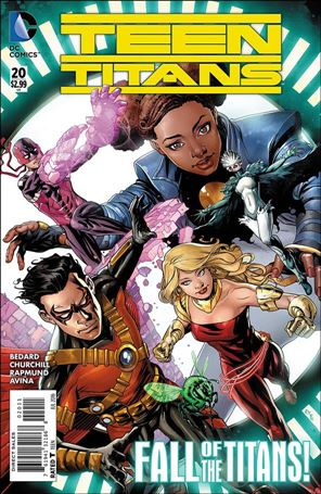 Teen Titans (2014) 20-A
