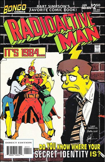 Radioactive Man (2000) 5-A by Bongo