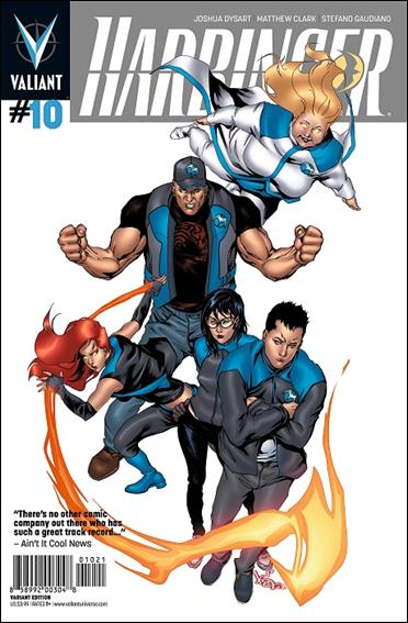Harbinger (2012) 10-B by Valiant Entertainment