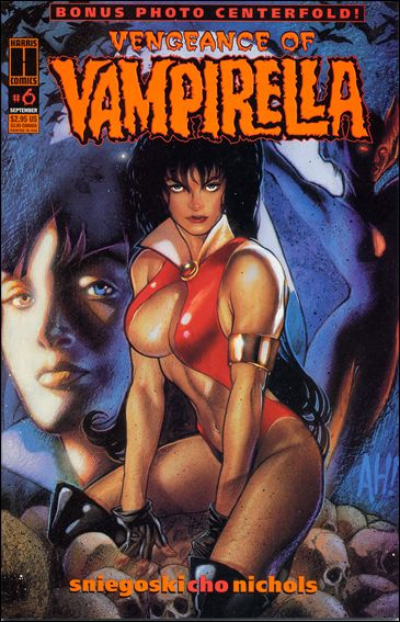Vengeance of Vampirella 6-A by Harris