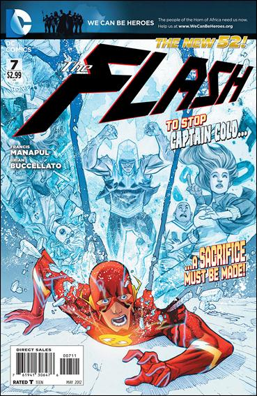 Flash (2011) 7-A by DC