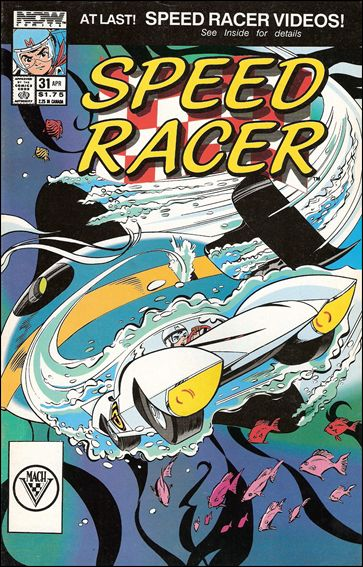 Speed Racer (1987) 31-A by Now Comics
