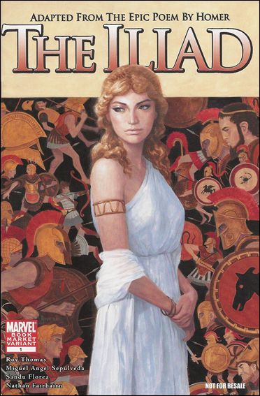 Marvel Illustrated: The Iliad 1-B by Marvel