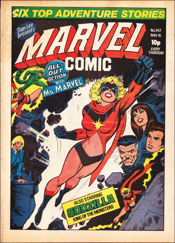 Marvel Comic (UK) 342-A by Marvel UK