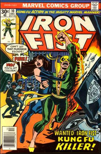 Iron Fist (1975) 10-A by Marvel