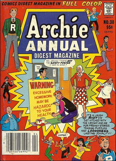 Archie Annual Digest Magazine 38-A by Archie