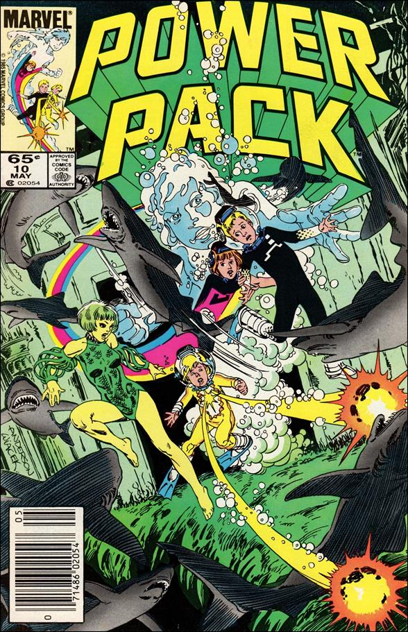 Power Pack (1984) 10-A by Marvel