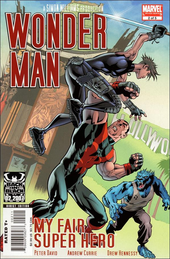 Wonder Man (2007) 2-A by Marvel