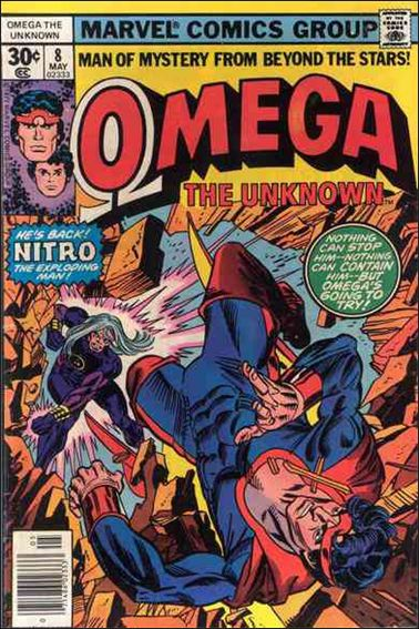 Omega: The Unknown (1976) 8-A by Marvel