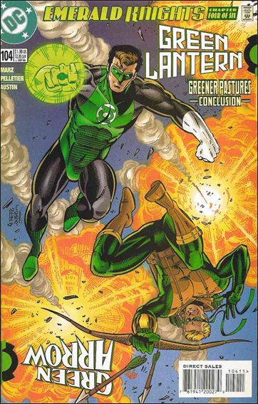 Green Lantern (1990) 104-A by DC