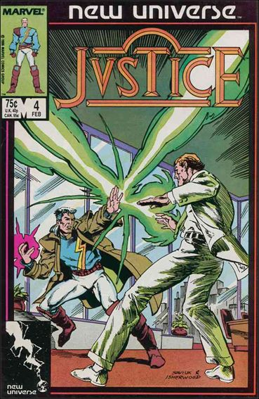 Justice (1986) 4-A by Marvel