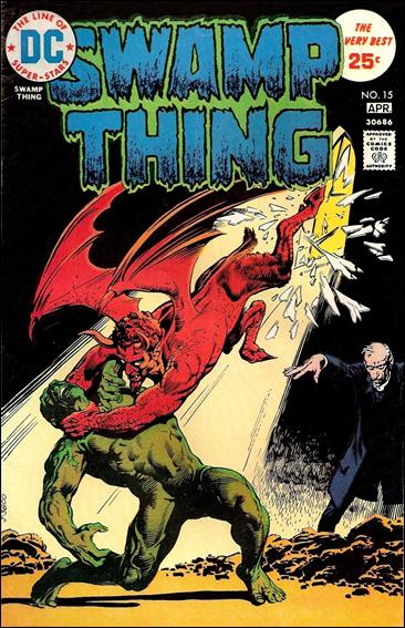 Swamp Thing (1972) 15-A by DC