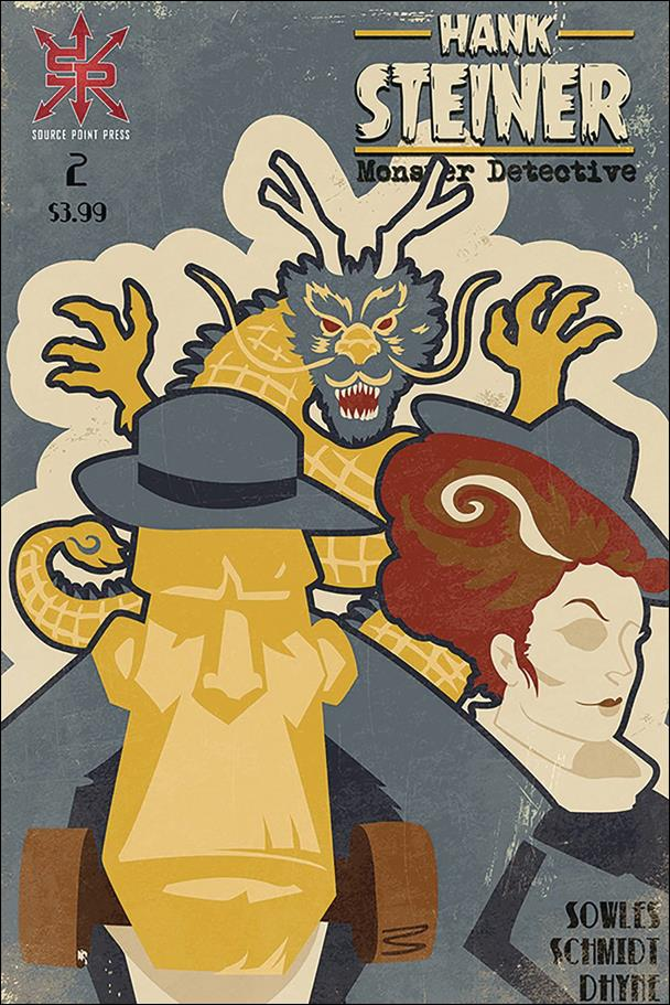 Hank Steiner: Monster Detective 2-A by Source Point Press