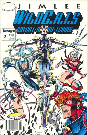 WildC.A.T.s: Covert Action Teams 2-B by Image
